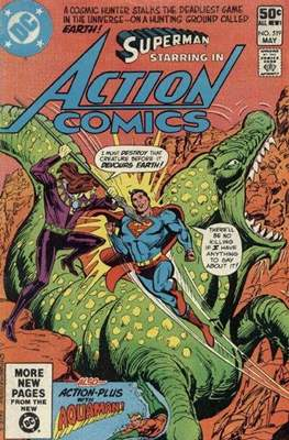 Action Comics Vol. 1 (1938-2011; 2016-) (Comic Book) #519