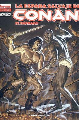 La Espada Salvaje de Conan el Bárbaro. Edición coleccionistas (Rústica. 64 páginas. B/N. (2005-2008).) #58