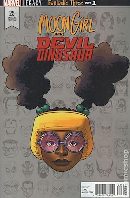Moon Girl and Devil Dinosaur (Variant Covers) (Grapa) #25.2