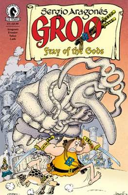 Groo: Fray of the Gods (2016-2017) (Grapa) #3