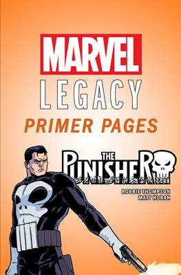 The Punisher: Marvel Legacy Primer Pages