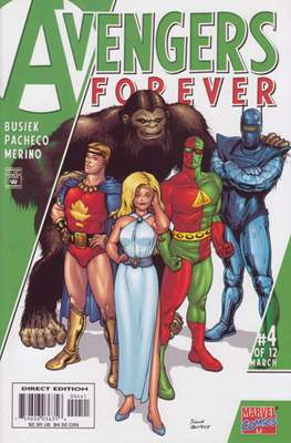 Avengers Forever (Variant Cover) (Comic Book) #4.3