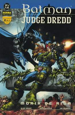 Batman / Judge Dredd: Morir de risa (Rústica 48 pp) #2