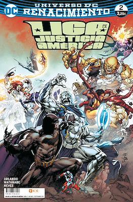 Liga de la Justicia de América. Renacimiento (Rústica / Grapa) #2