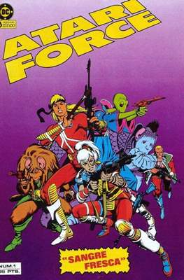 Atari Force (Grapa 36 pp) #1