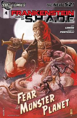 Frankenstein, Agent of S.H.A.D.E. (2011-2013) #4
