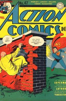 Action Comics Vol. 1 (1938-2011; 2016-) (Comic Book) #47