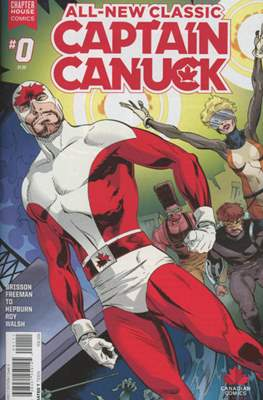 All-New Classic Captain Canuck