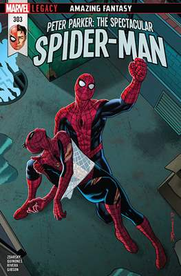 Peter Parker: The Spectacular Spider-Man (2017-2018) (Comic Book) #303