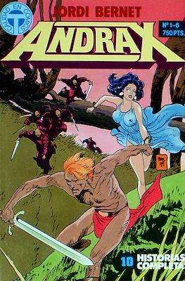 Andrax (Retapado. 316 páginas) #1