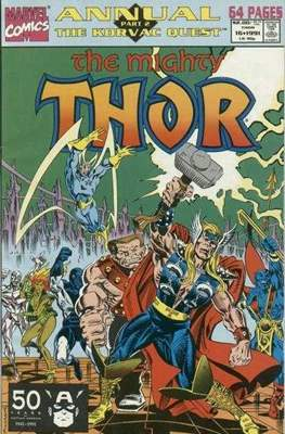The Mighty Thor Annual (1966-1994) (Comic Book) #16