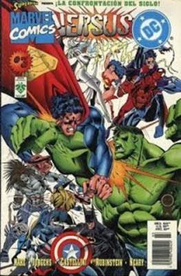 Dc versus Marvel / Marvel versus Dc (Rústica) #3