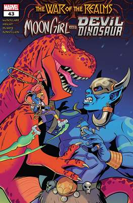 Moon Girl and Devil Dinosaur (Comic-book) #43