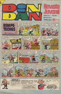 Din Dan 2ª época (1968-1975)