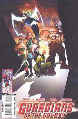 Guardians of the Galaxy Vol. 2 (2008-2010) (Comic-Book) #18