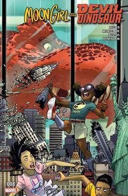 Moon Girl and Devil Dinosaur (Comic-book) #8