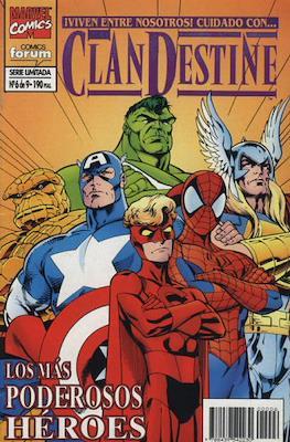 ClanDestine (1995-1996) (Grapa. 24 páginas.) #6