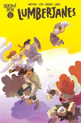 Lumberjanes (Comic-book) #63
