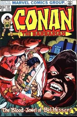 Conan The Barbarian (1970-1993) (Comic Book 32 pp) #27
