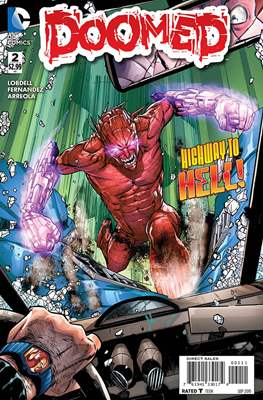 Doomed (Comic Book) #2