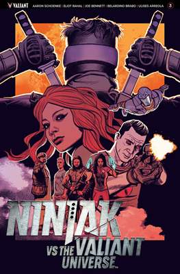 Ninjak vs The Valiant Universe (Comic Book) #3