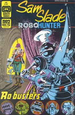 Sam Slade Robo-Hunter #2