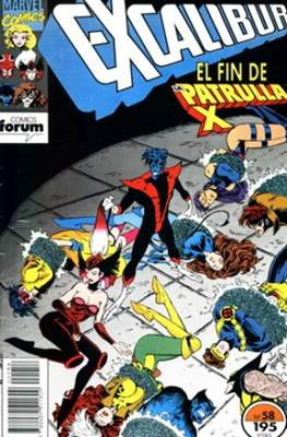 Excalibur Vol. 1 (1989-1995) (Grapa) #58
