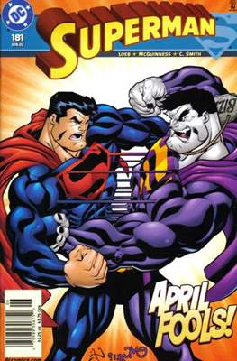 Superman Vol. 2 (1987-2006) (Comic Book) #181
