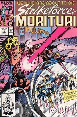 Strikeforce Morituri (Comic-book.) #6