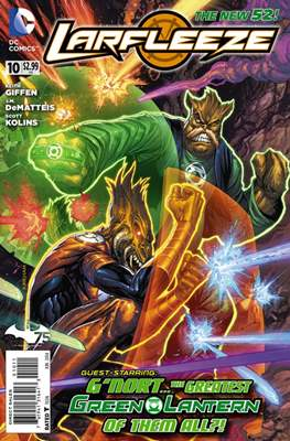 Larfleeze (2013-2014). The New 52 (Grapa) #10