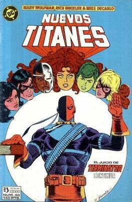 Nuevos Titanes Vol. 1 (1984-1988) (Grapa 40 pp) #44