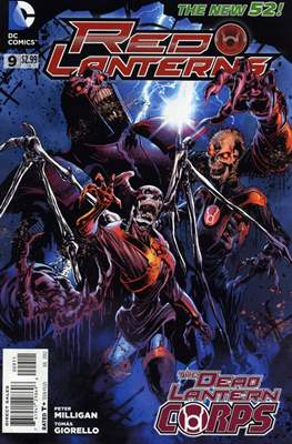 Red Lanterns (2011 - 2015) New 52 #9