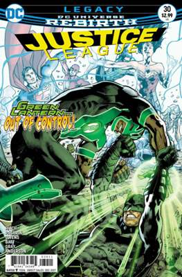 Justice League Vol. 3 (2016-2018) (Comic-book) #30