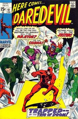 Daredevil Vol. 1 (1964-1998) (Comic Book) #61
