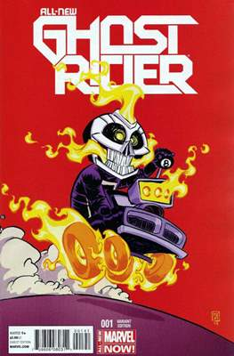 All New Ghost Rider (2014-2015 Variant Covers) (Comic Book) #1.1