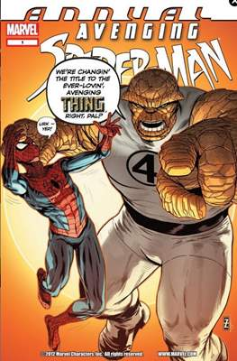 Avenging Spider-Man Annual (2012)