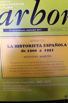 Arbor volumen 187: La historieta española de 1900 a 1951