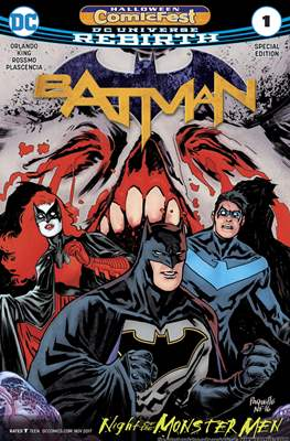 Batman Halloween ComicFest 2017