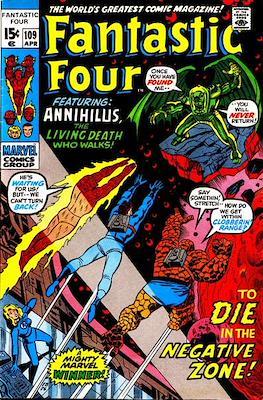 Fantastic Four Vol. 1 (1961-1996) (saddle-stitched) #109