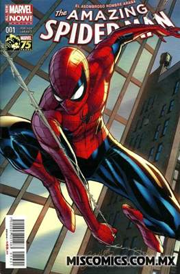 The Amazing Spider-Man (2014-2016 Portada variante)
