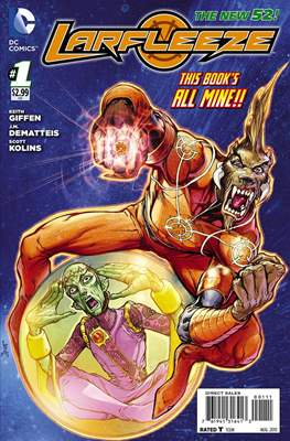 Larfleeze (2013-2014). The New 52 (Grapa) #1