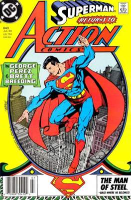 Action Comics Vol. 1 (1938-2011; 2016-) (Comic Book) #643