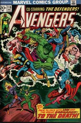 The Avengers Vol. 1 (1963-1996) (Comic Book) #118