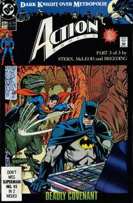 Action Comics Vol. 1 (1938-2011; 2016-) (Comic Book) #654