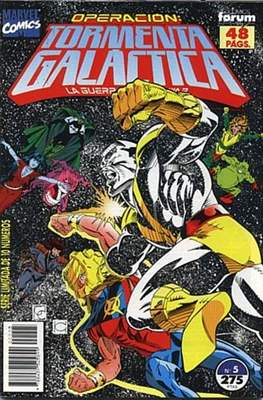 Operación: Tormenta Galáctica (1992-1993) (Grapa) #5