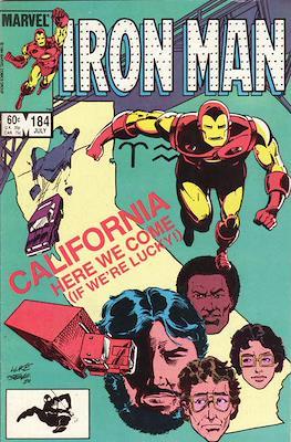 Iron Man Vol. 1 (1968-1996) (Comic book) #184