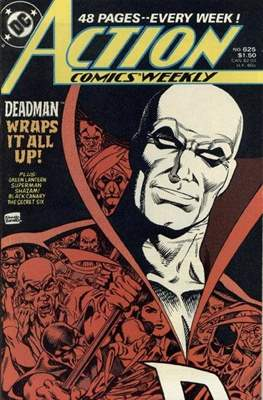 Action Comics Vol. 1 (1938-2011; 2016-) (Comic Book) #625