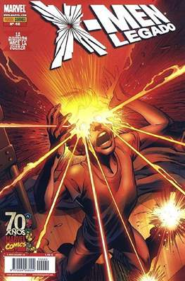 X-Men Vol. 3 / X-Men Legado (2006-2013) (Grapa, 24-48 pp) #40