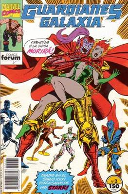 Guardianes de la Galaxia (1993-1994) #2