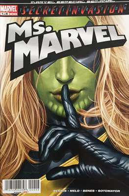 Ms.Marvel Secret Invasion (Grapa) #1